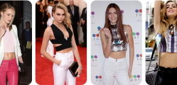 Is midriff baring fashion a growing trend of 2015 - Chiara Ferragni, Kendall Jenner, Rosie Utington or Cara Delevinge