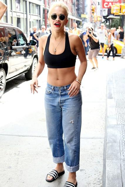 2015's Celebrity Crop Top Trends - Rita Ora
